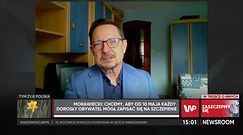 Dr Jacek Krajewski o szczepieniach przeciw COVID-19