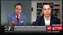 Szczepienia na COVID-19 przez drive thru. Prof. Miłosz Parczewski: to bezpieczne rozwiązanie