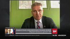 """Wojciech Konieczny ocenia Narodowy Program Szczepień. """"Wygląda to dobrze, o ile są szczepionki"""""""
