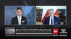 """Spór w Porozumieniu. Wiceminister Michał Woś: """"Tam się strasznie żrą"""""""
