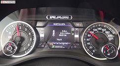 RAM 1500 5.7 HEMI V8 401 KM (AT) - pomiar zużycia paliwa