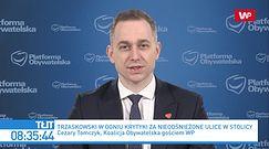 TVP Info atakuje Rafała Trzaskowskiego. Reakcja Cezarego Tomczyka