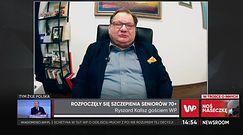 Ryszard Kalisz krytykuje system programu szczepień na COVID-19
