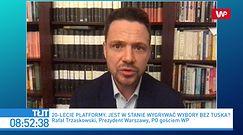 Rafał Trzaskowski zdumiony słowami Grzegorza Schetyny o Donaldzie Tusku