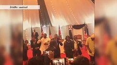 Obama tańczy z afrykańskim zespołem