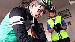 Nietypowi rowerzyści, którzy nie widzą przeszkód