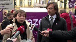 Partia Razem zakończyła pikietę przed kancelarią premiera