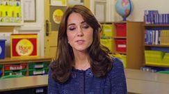 Kate Middleton na rzecz zdrowia psychicznego u dzieci
