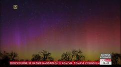 Kolorowe niebo nad Polską. Astrofotograf upolował zorzę polarną