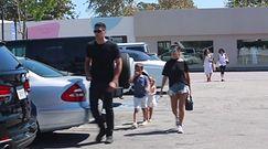 Kourtney Kardashian z dziećmi w Malibu
