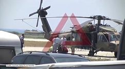 Black Hawk wylądował w Grecji; załoga poprosiła o azyl