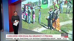 """Setki uchodźców koczują na polskiej granicy. """"Wpuście nas"""""""