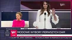 Melania Trump, Michelle Obama, Agata Duda - styl pierwszych dam