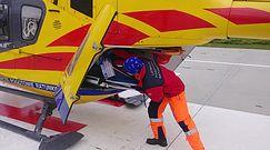 Załoga Lotniczego Pogotowia Ratunkowego lata do najtrudniejszych wezwań