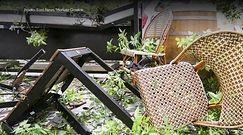 Skutki nawałnic w Polsce. Tysiące domów bez prądu