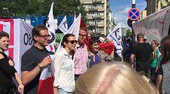 Protest przeciwko ustawom o sądach. Obywatele RP i KOD pod Sejmem