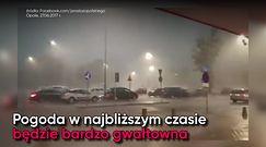 Burze w Polsce. Nawałnice przeplatane upałami