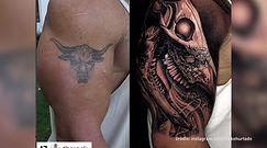 """#dziejesiewkulturze: Dwayne """"The Rock"""" Johnson wreszcie zakrył stary tatuaż"""