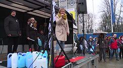 Prezydent w parlamencie. Protesty przed Sejmem