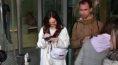 Marina cała na biało podpisuje płyty pod TVN-em
