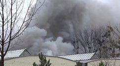 Potężny pożar w Radomiu