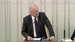 Sędzia Zabłocki w Senacie: o wolnych sądach i wolnych wyborach pamiętać będą wolni ludzie