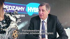 Dr Johan van Zyl o samochodach z napędem hybrydowym