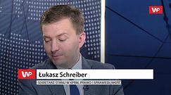 """Łukasz Schreiber o wpisach Marka Suskiego: """"metafory"""""""