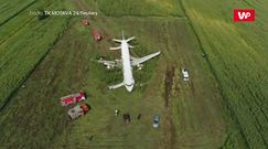 Cud w kukurydzy. Nagrania pasażerów