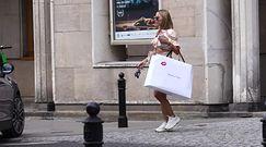 Wycieczka szkolna przerywa zakupy Ewy Chodakowskiej
