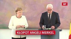 Angela Merkel znów się trzęsie. Rzecznik wydał oświadczenie