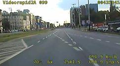 Pijany taksówkarz pędził ponad 100 km/h