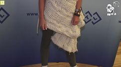 Monika Pietrasińska na imprezie promującej... laser