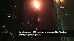 Płonie jeden z najwyższych wieżowców świata