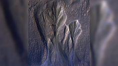 Zaskakujące odkrycie w szczelinach Marsa