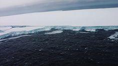 Gigantyczna góra lodowa. Wyspa na Atlantyku zagrożona