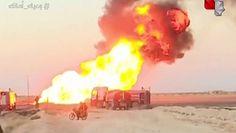 Arabski gazociąg w Syrii. Wybuch doprowadził do awarii prądu w całym kraju