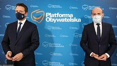 Rafał Trzaskowski czy Borys Budka. Polityka PO zapytano o to, kto jest liderem