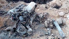 Radziecki IŁ-2. Dziesiątki lat ukryty pod ziemią
