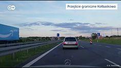 Sytuacja na polsko-niemieckiej granicy. Nagranie z kamery samochodowej