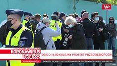 Protest przedsiębiorców. Policja rozdaje mandaty
