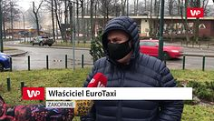Taksówkarz z Zakopanego opisuje, jak wygląda sytuacja w mieście