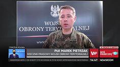 """Koronawirus w Polsce. Rzecznik WOT o wsparciu """"terytorialsów"""" w walce z epidemią"""