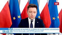 Koronawirus w Polsce. Będzie całkowity lockdown? Szef KPRM Michał Dworczyk: nie można wykluczyć żadnych scenariuszy