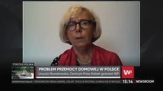 Urszula Nowakowska o problemie z ochroną ofiar przemocy domowej