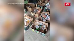 Uratowali dwie tony żywności. Teraz sami potrzebują pomocy