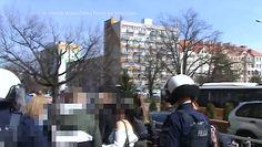 Film policji z interwencji w Głogowie