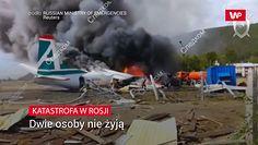Katastrofa samolotu w Rosji. Na pokładzie było 47 osób