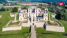 Ruiny największego zamku w Polsce
