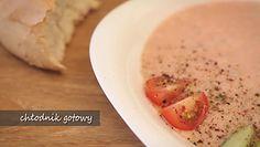 Chłodnik chlebowy. Najlepsza zupa na upały